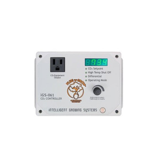 Plug n Grow Smart CO2 Monitor & Controller