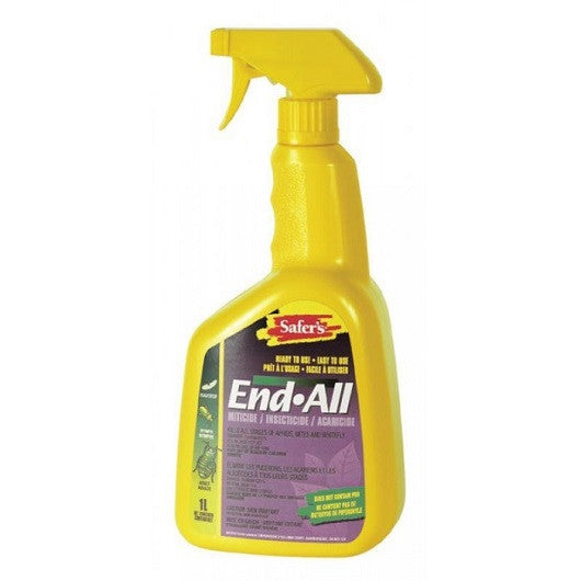 SAFER' S END ALL 1liter RTU spray