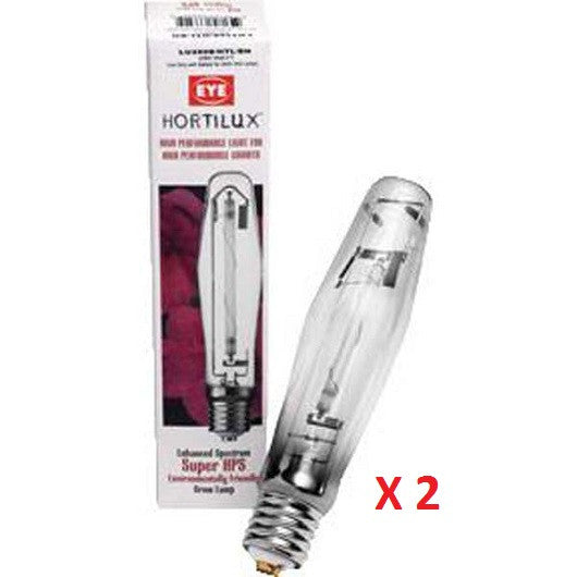 600 W Hortilux HPS 2 Pack Lamp Combo