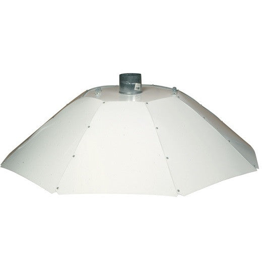 4ft White Parabolic Shade