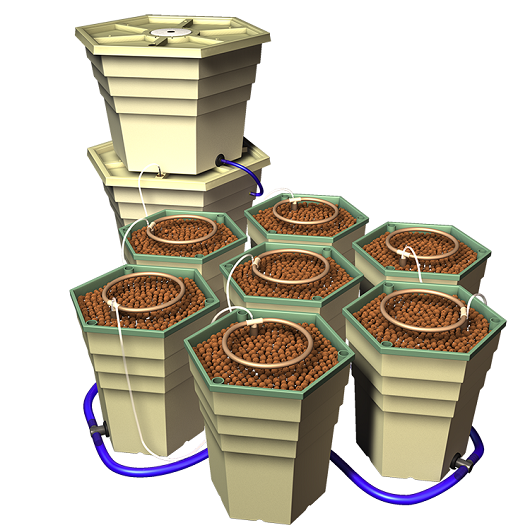 Power Grower Hydroponic 8-Plant Garden System