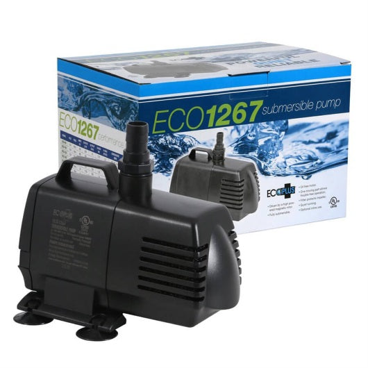 Eco-Plus 1267 GPH Submersible and In-line pump