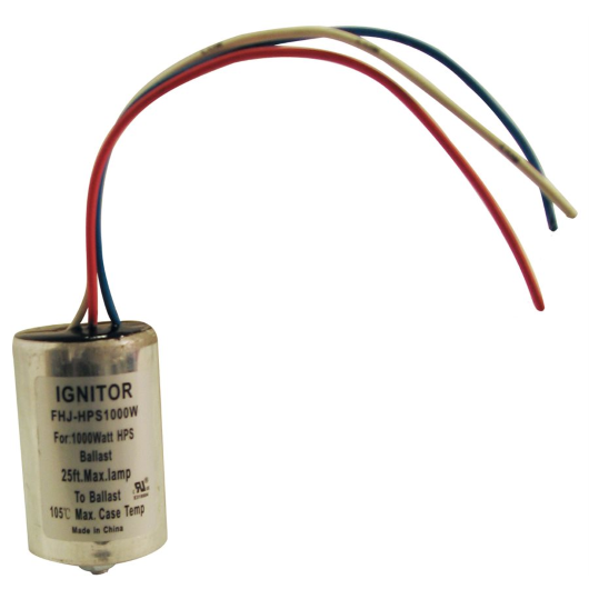 Replacement ignitors for HPS ballasts