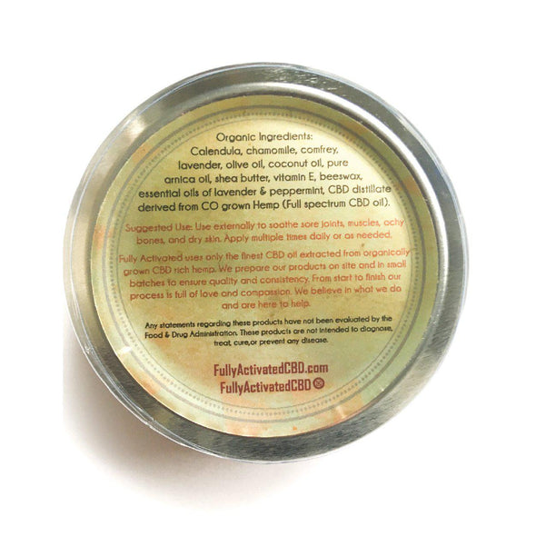 Full Spectrum CBD Salve (500mg-2000mg)