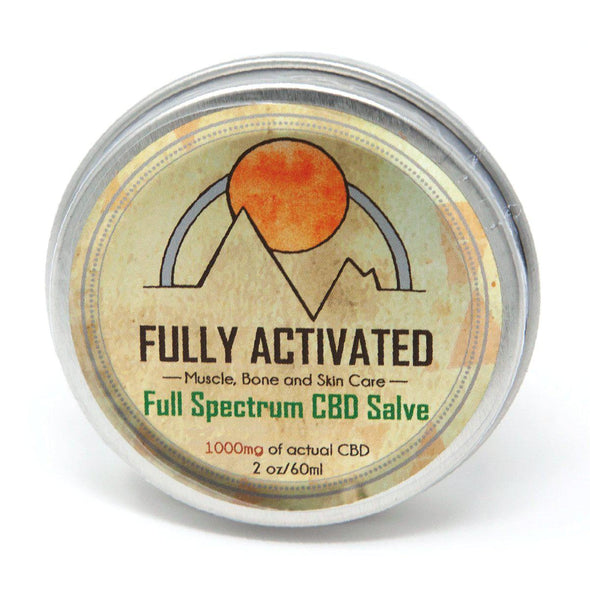 Fully Activated Full Spectrum CBD Salve 1000mg Ships to all fifty states