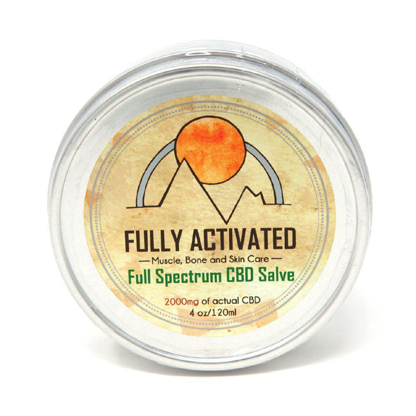Fully Activated Full Spectrum CBD Salve 2000mg Ships to all fifty states