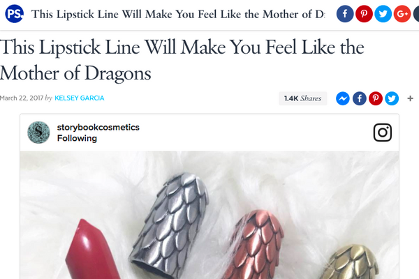 This Lipstick Line Will Make You Feel Like the Mother of Dragons: Popsugar Feature