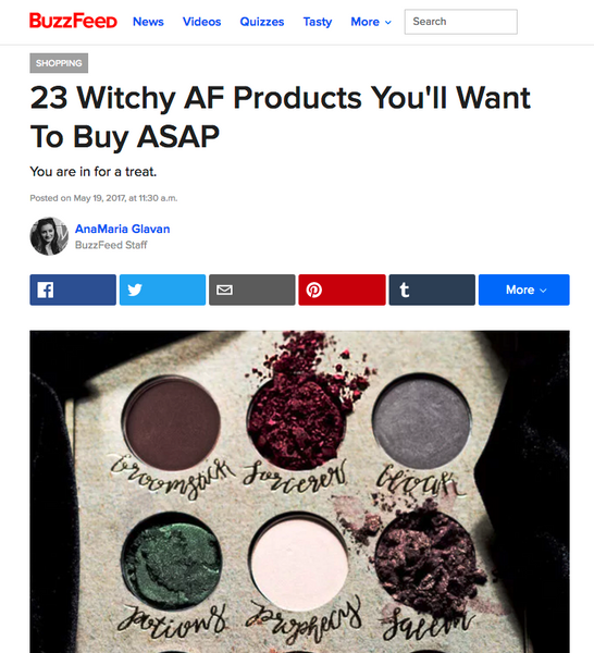 23 Witchy AF Products You'll Want To Buy ASAP: BuzzFeed Round Up