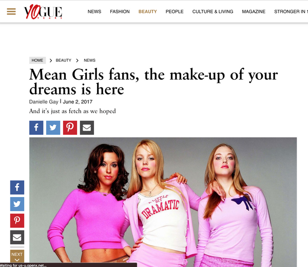 Mean Girls fans, the make-up of your dreams is here: Vogue India Feature