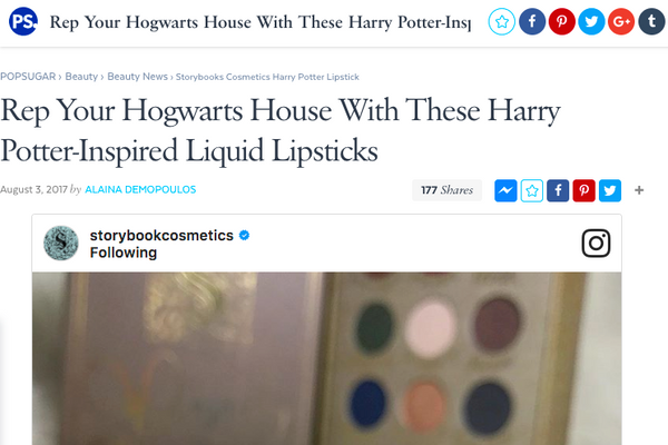 Rep Your Hogwarts House With These Harry Potter-Inspired Liquid Lipsticks: Popsugar