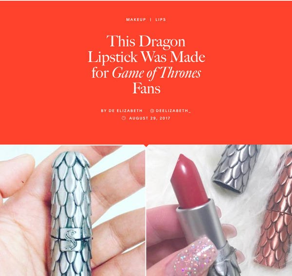 This Dragon Lipstick Was Made for Game of Thrones Fans: Allure Feature