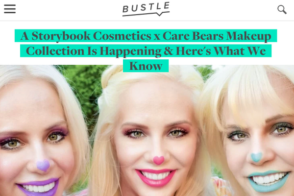 A Storybook Cosmetics x Care Bears Makeup Collection Is Happening & Here's What We Know: Bustle Feature