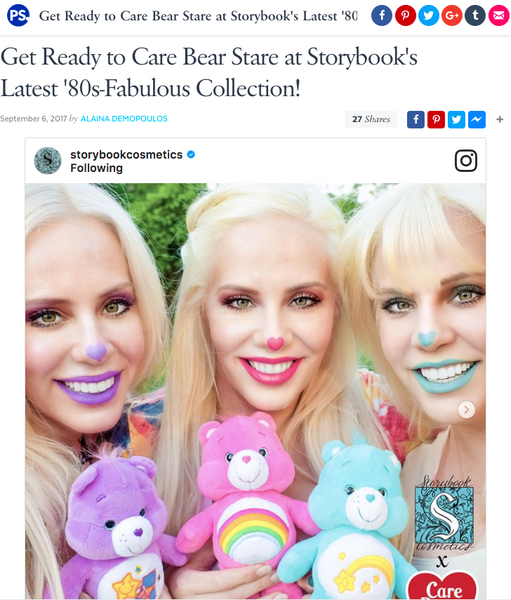 Get Ready to Care Bear Stare at Storybook's Latest '80s-Fabulous Collection: Popsugar Feature