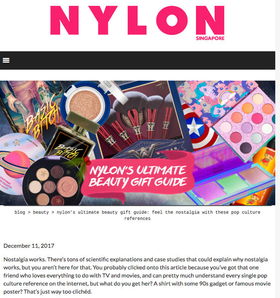 nylon's ultimate beauty gift guide: feel the nostalgia with these pop culture references: Nylon Round up