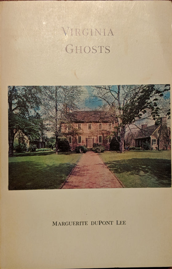 Book - Virginia Ghosts