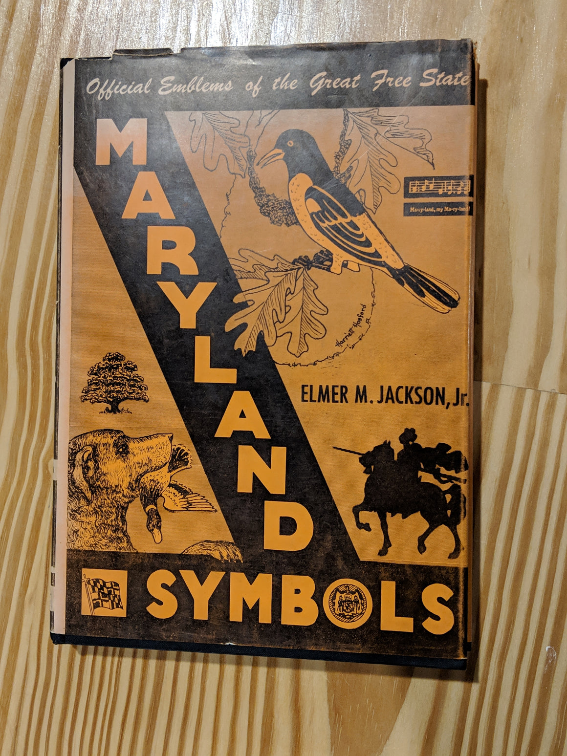 Book - Maryland Symbols