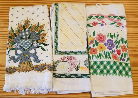 Dish Towels - Various Terry Cloth Towels