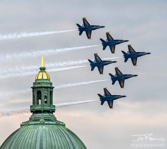 Print - Jay Fleming - Blue Angels