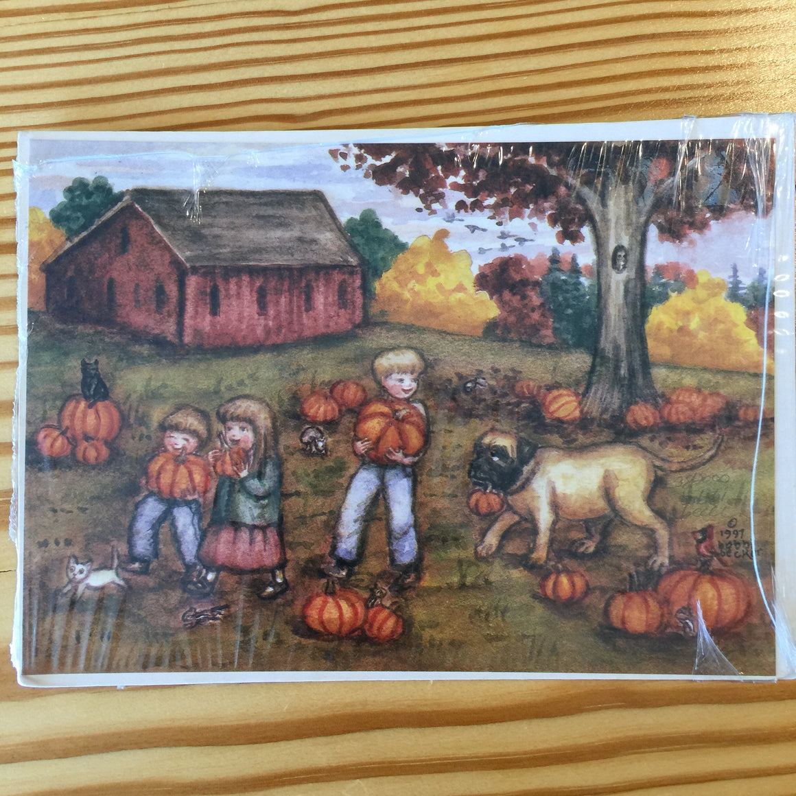 "Print - ""Pumpkin Patch"" by Bobbi Becker"