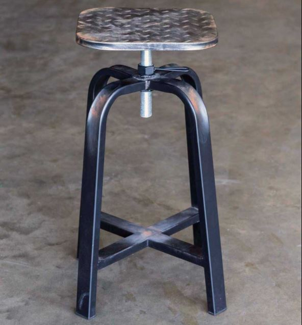 Stool - Diamond Plate