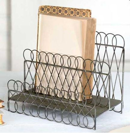 Looped Wire File Holder
