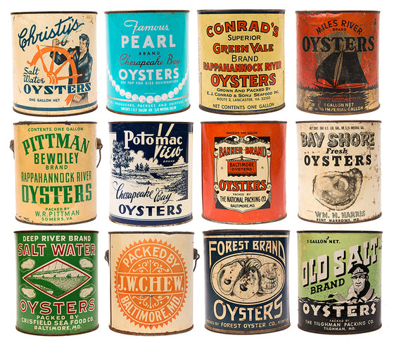 Jay Fleming - Chesapeake Bay Oyster Cans