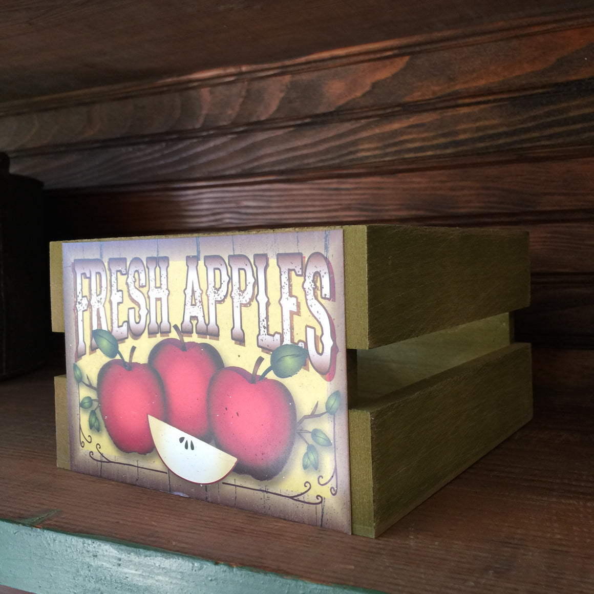 Wood Small Fruit Crates