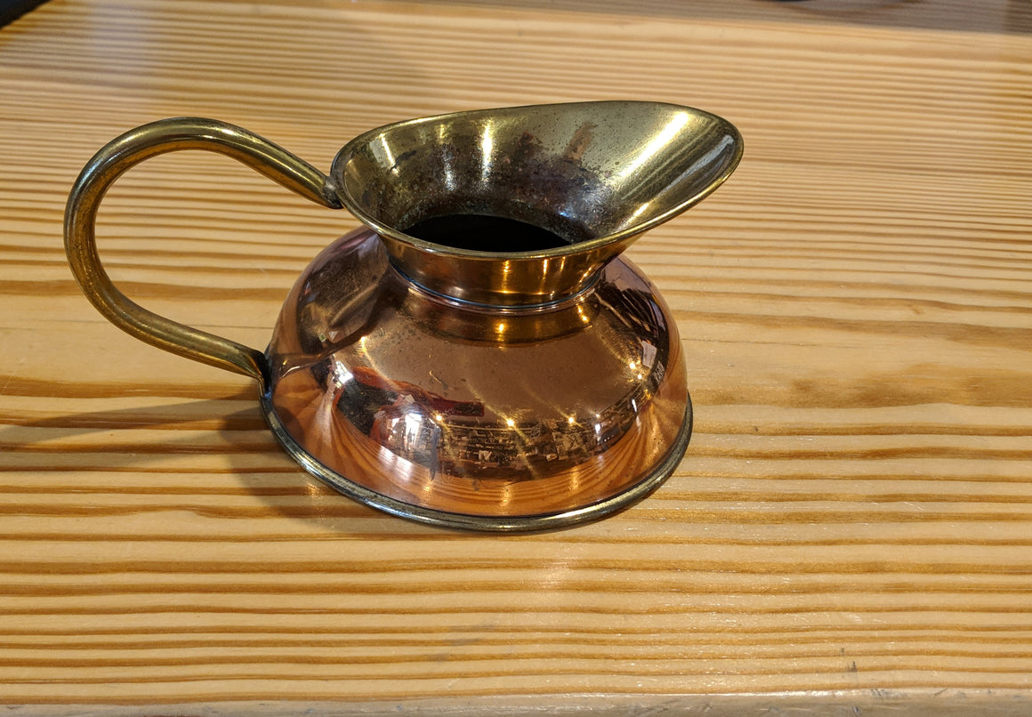 Copper English Sauce Pitcher