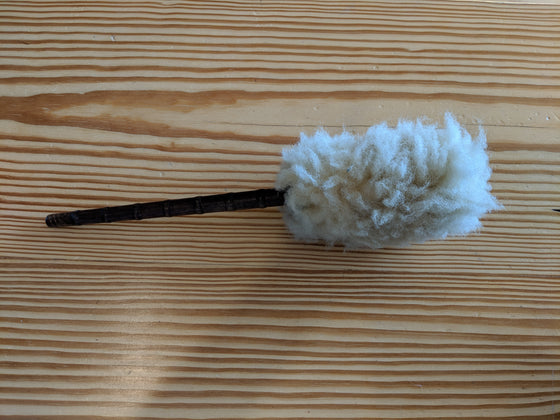 Antique Wood Duster
