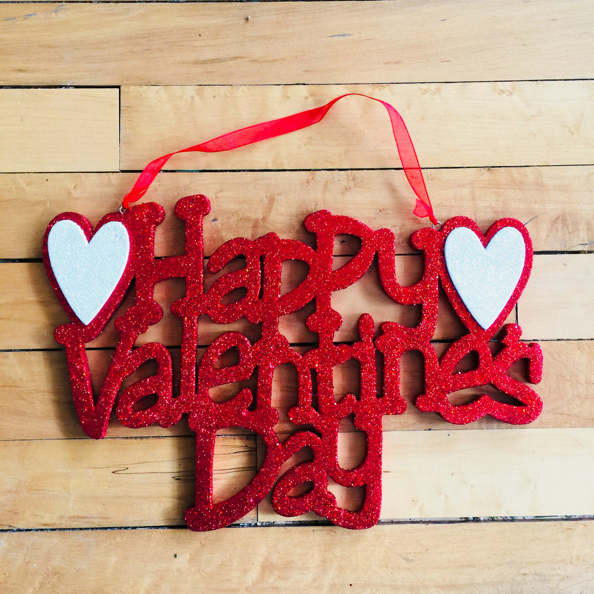 Wall Hanging   Happy Valentineu0027s Day Sign ...