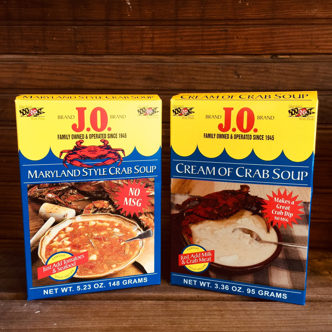 J.O. Brand Soup Mixes