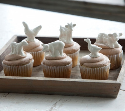 Little Creamware Farm Animals