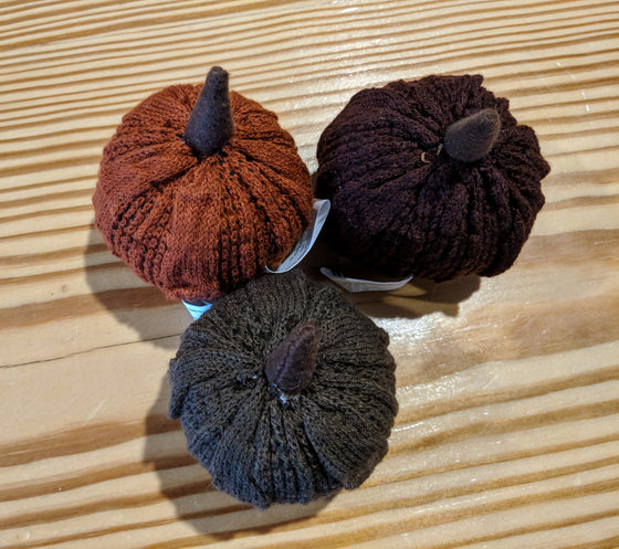 Autumn Decor - Sweater Pumpkins