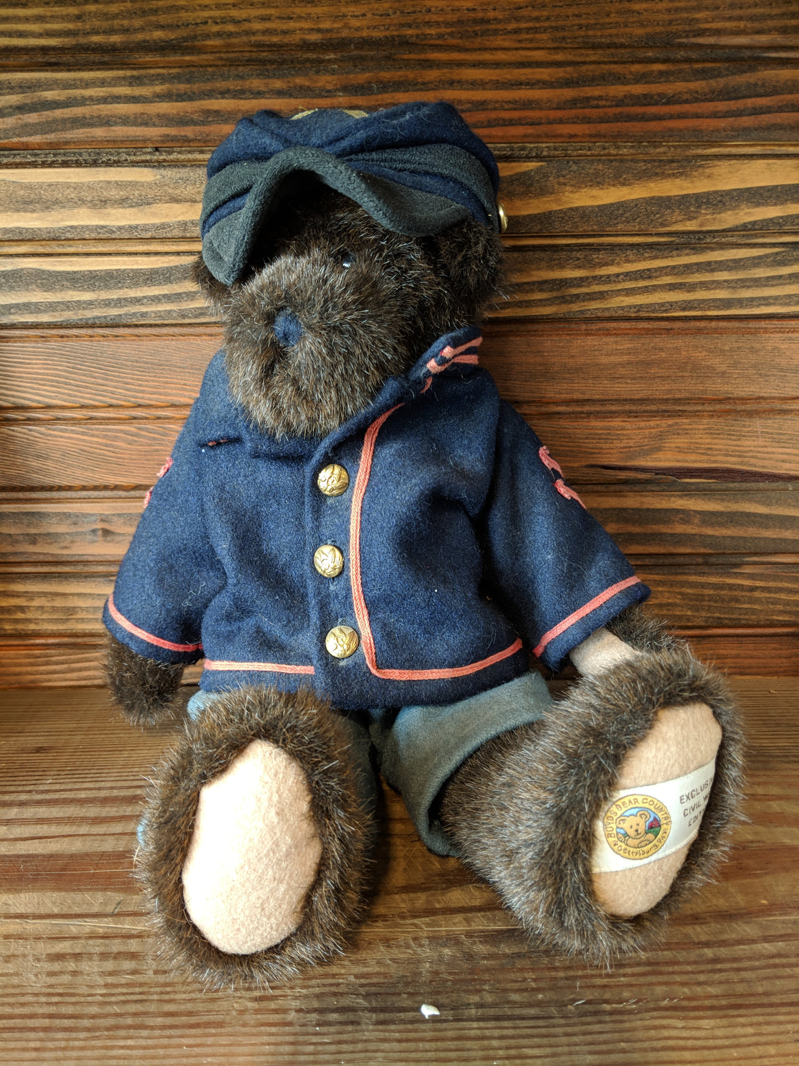 Boyds Bear - Mr. Mason retired Civil War bear