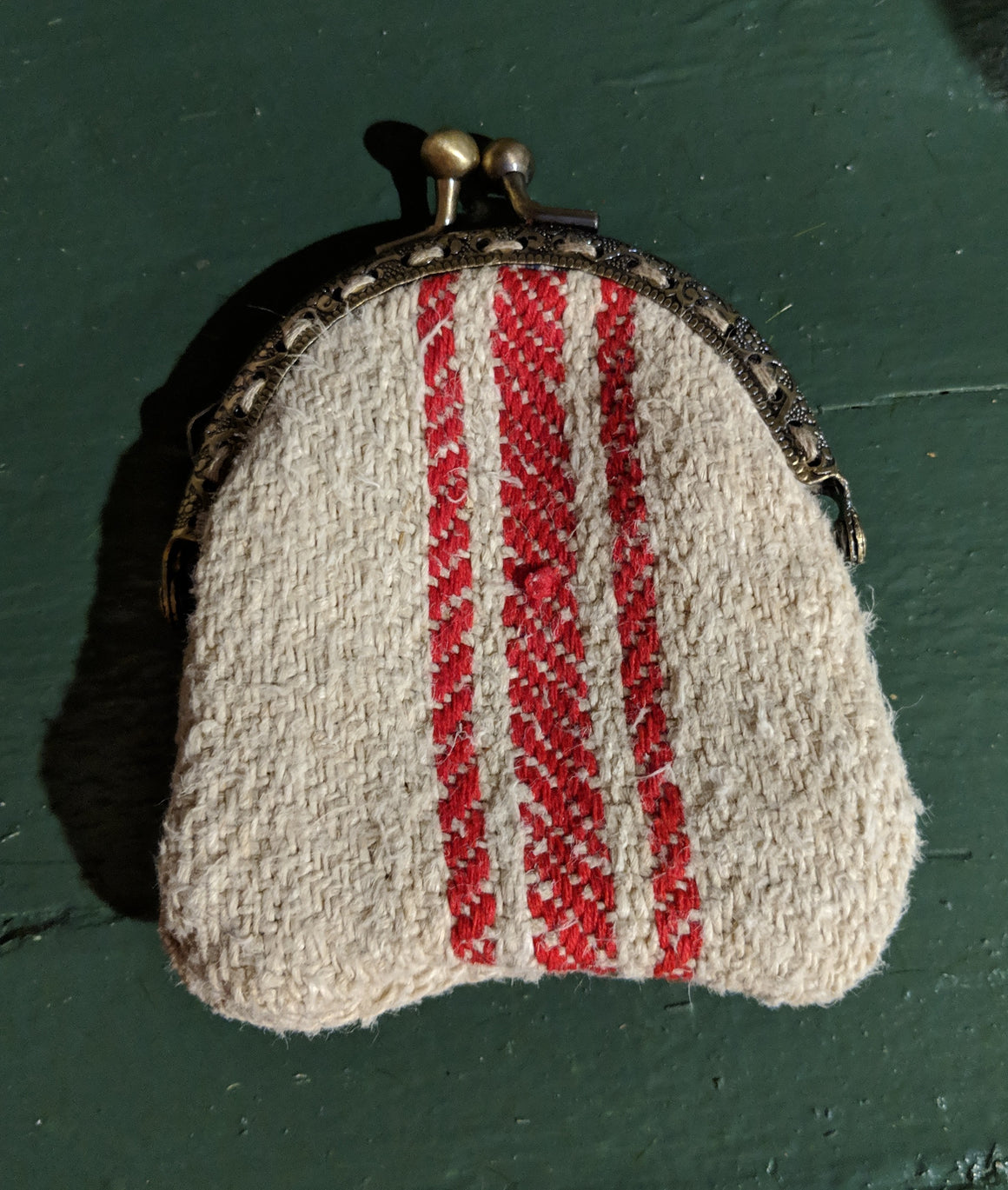 Grain Sack Coin Purse