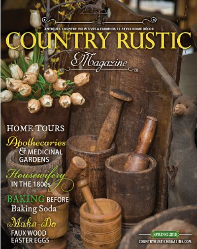 Magazine - Country Rustic Magazine - Spring 2018 edition