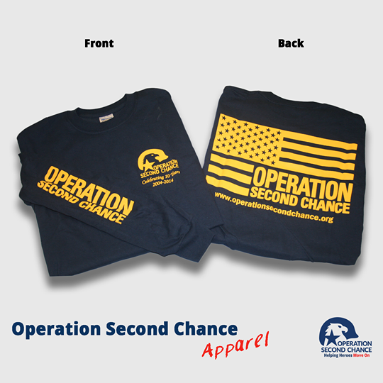 OSC Short Sleeve Tee (Navy with Yellow)