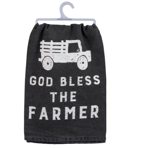 Dish Towel - God Bless The Farmer