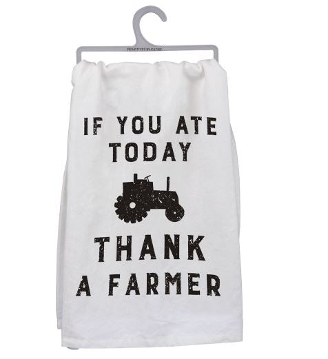 Dish Towel - Thank A Farmer