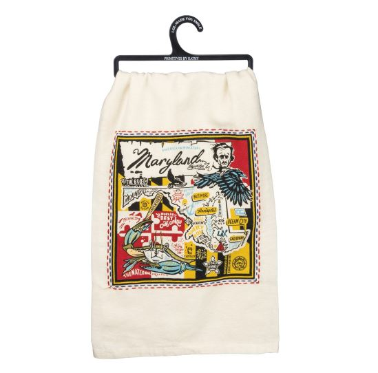 Dish Towel (Embroidered) - Super Maryland