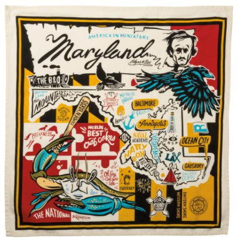 Dish Towel - Super Maryland