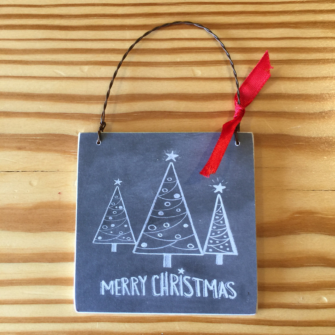 Ornaments - Chalk Art Style