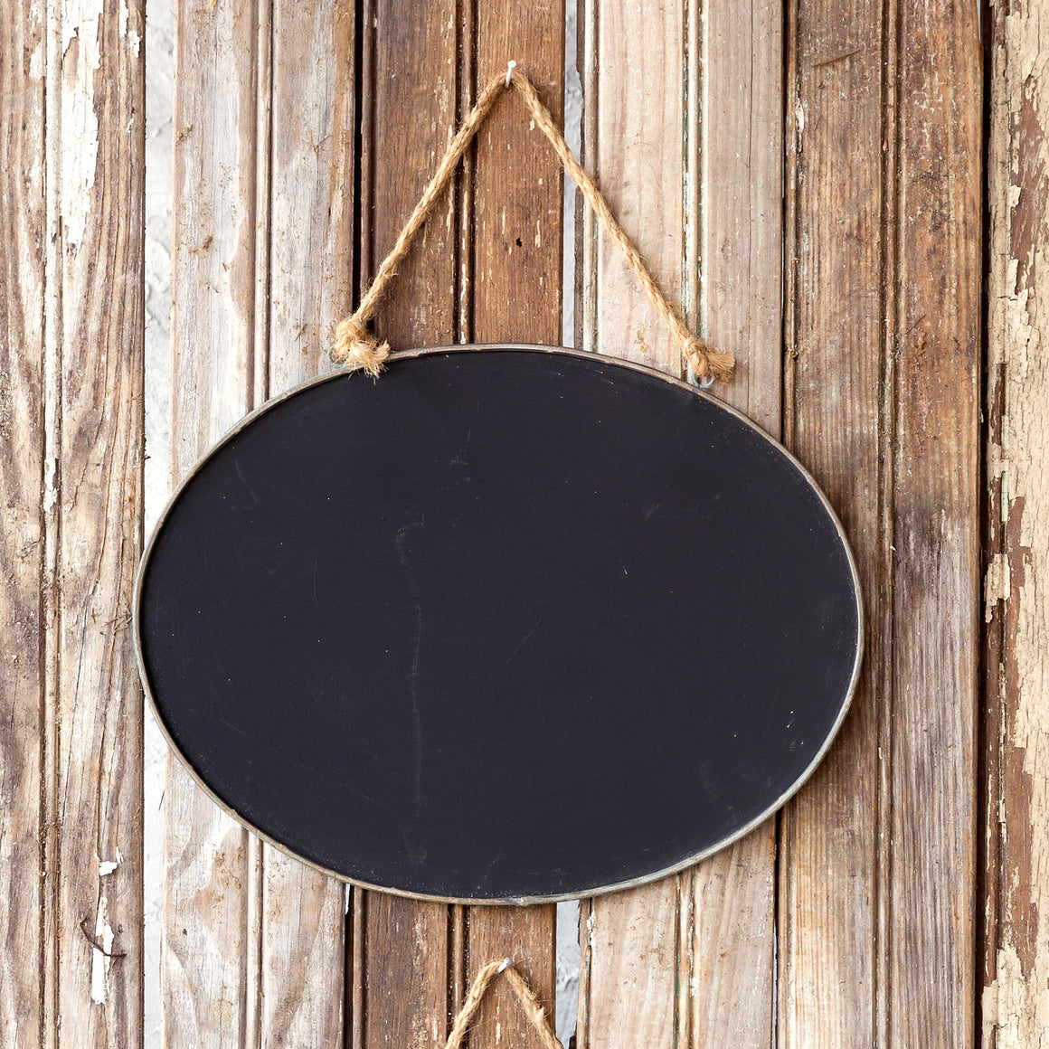 Blackboard/Chalkboard - Small Oval