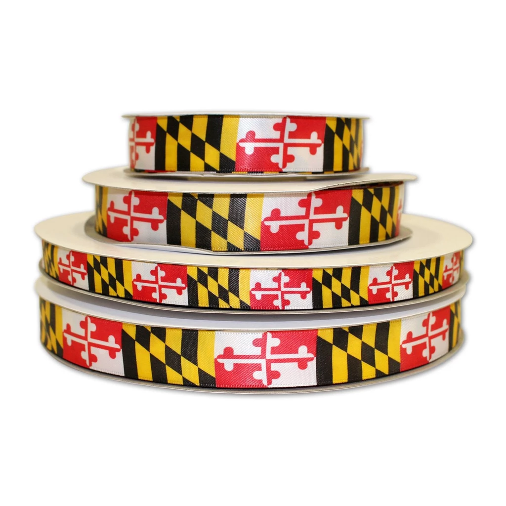 Maryland Flag Ribbon