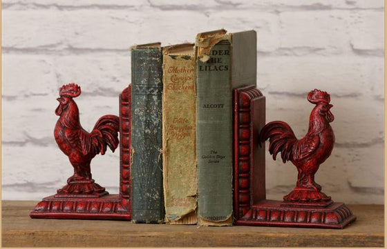 Bookends - Red Rooster