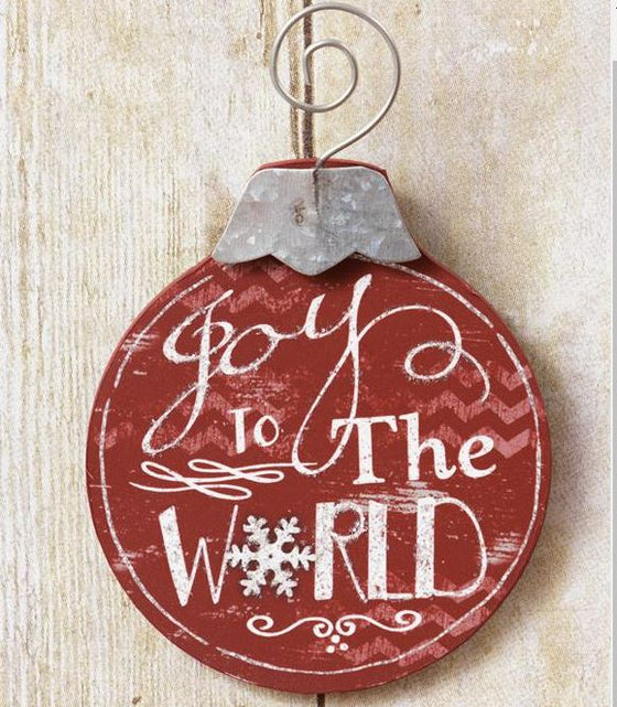 Ornaments - Joy To The World