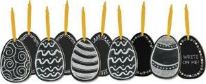 Chalk Ornaments - Chalk eggs