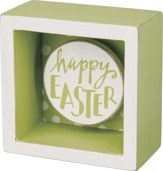 Box Sign - Happy Easter