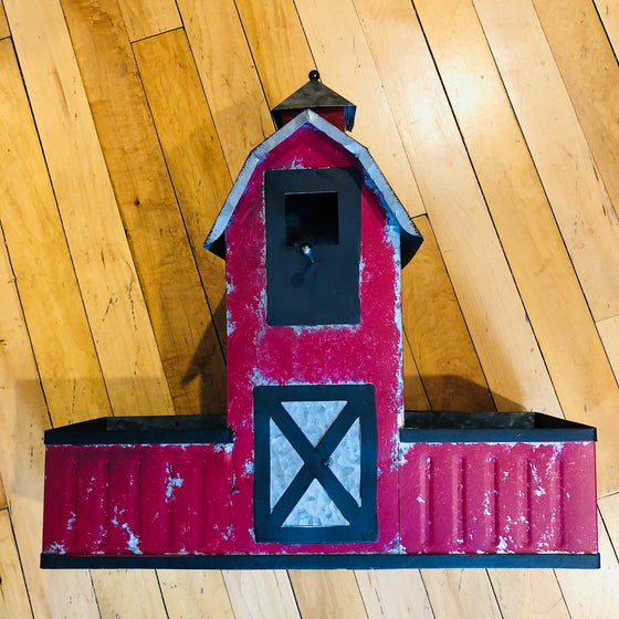 Metal Barn Feeder
