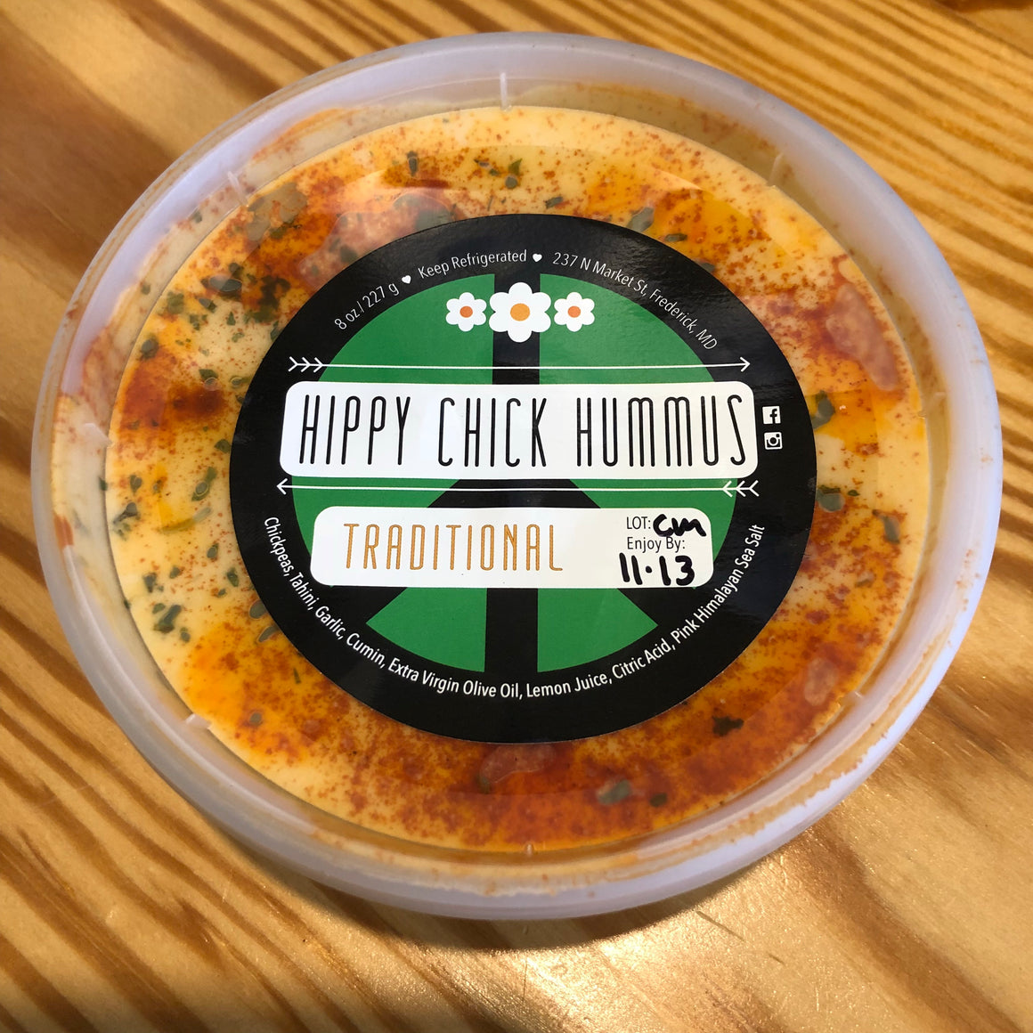 Hippy Chick Hummus